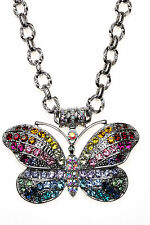 KIRKS FOLLY RAINBOW BUTTERFLY MAGNETIC ENHANCER NECKLACE ~~NEW RELEASE~~ ST