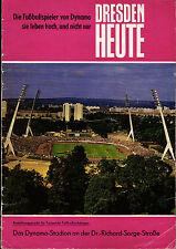 EC I 73/74 SG Dynamo Dresden - Juventus Turin, DRESDEN HEUTE