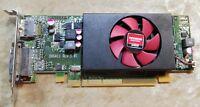 [C] AMD Radeon R5 240 1GB Low Profile 109-C55357-00_02 0W42M3 graphics card DP