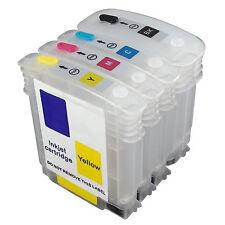 EMPTY set Refillable Ink Cartridges 88 88XL for HP officejet L7580 L7590 L7550