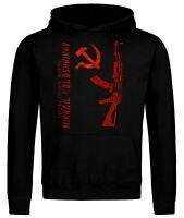 AK-47 Kalashnikov USSR Russia Russland Kapuzenpullover Hoodie Sweatshirt