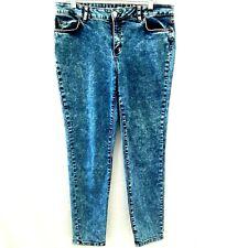 Vintage Route 66 Skinny Womens Plus Blue Jeans Size 16