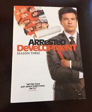 Arrested Development - Season 3 (DVD, 2009, 2-Disc Set) *NEW SEALED*