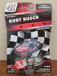 2018 Wave 6 Kurt Busch Haas Automation 1/64 NASCAR Authentics Diecast