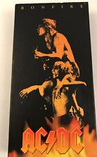 Bonfire by ACDC 1997 Boxed Set Stickers Poster Booklets 5 Cds Pristine