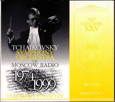 Vladimir FEDOSEYEV :BRUCKNER Symphony No.8 RELIF 1999 FEDOSEEV CD NEU Sinfonie