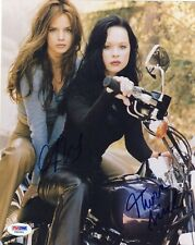 Thora Birch & Mena Suvari Dual Signed 8X10 Autographed Photo Psa/Dna Coa