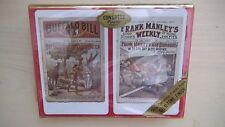 SEALED Vintage Double Deck CONGRESS Playing Cards Old Newspapers
