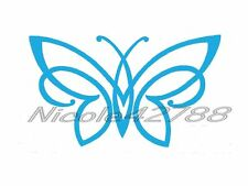 Vinyl Butterfly Sticker/Wall/Laptop/Tablet /Car Decal + More Colors