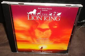 The Lion King Special Edition (CD) Sountrack