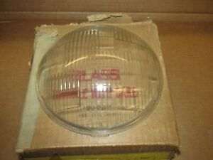 1938 DESOTO  BI RAY NOS HEADLAMP HEADLIGHT DOOR GLASS LENSES LENS