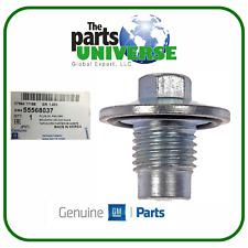 GENUINE Oil Drain Plug 11-16 Chevy Encore ELR Cruze Sonic Trax Volt OEM 55568037