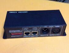 DC12V-24V DMX512 3CH Decoder Driver 8A for 5050 3528 RGB LED Strip Light US P8M7