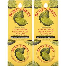 2 Pack - Burt's Bees Lemon Butter Cuticle Cream Tin .6Oz Each
