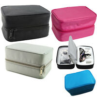 Carrying Zipper Cloth Bag Box Carry Case 4 colors for dental loupes + LED light
