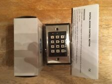 CE, HCT, Brushed Stainless,  Programmable Digital Keypad, NEW IN PACKAGE