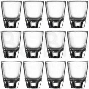 BarBits American Shot Glasses Set of 12 -  30ml Glass Slammer Drinking Shooters