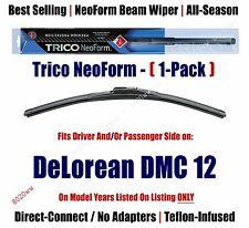 Super Premium NeoForm Wiper Blade (Qty 1) fits 1981-1983 DeLorean DMC 12 16200