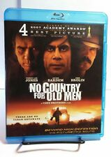 No Country for Old Men (Blu-ray Disc,2011)Free S&H-Josh Brolin, Tommy Lee Jones