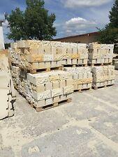 Mauersteine Sandstein Gartensteine Sandsteinmauer 4-Seiten gesägt 2-gespalten
