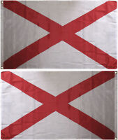 3x5 State of Alabama Flag 3'x5' House Banner Super Polyester Grommets premium