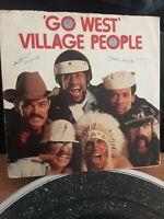 "Village People – Go West Vinyl 7"" P/S Single UK Mercury 1979"