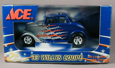 Ace Hardware '33 Willys Coupe Coin Bank & Hat Limited Edition