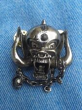 Motorhead pin badge heavy metal judas priest iron maiden