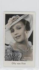 1934 Caid Beruhmter Filmkunstler Tobacco Base #248 Olly Von Flint Card 1s8