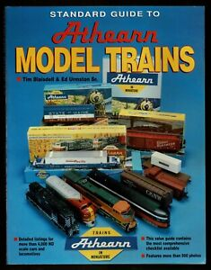 STANDARD GUIDE TO ATHEARN MODEL TRAINS, by Blaisdell & Urmston, 1998, 287 pages
