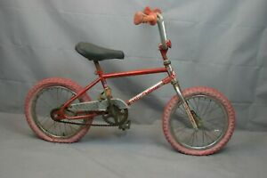 "1965 Akisu Mity Challenger 16"" Kids BMX Bike SS Single Speed Steel USA Charity!"