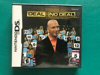 Deal or No Deal Nintendo DS Video Game with Original Case & Instruction Booklet