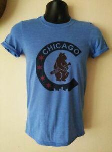 Chicago Cubs shirt Baseball Funny Blue Vintage Gift Men Women Tee 2021 New Hot