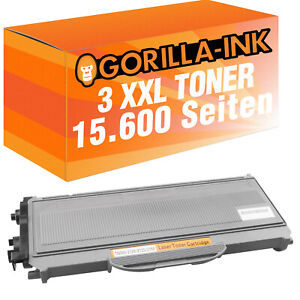 3 Toner Super-XL PlatinumSerie für Brother TN-2120 TN2120 TN 2120 HL-2170 N HL-2