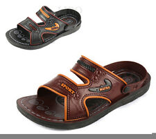 Comfy Mens Classic Summer Comfortable Sandals Straps Casual Slipper Beach Shoes