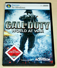 CALL OF DUTY 5 - WORLD AT WAR - PC SPIEL - DVD ROM MIT HANDBUCH