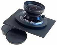 SINAR GRANDAGON-N 6.8 f=90mm MC RODENSTOCK CAMERA 4x5 IN LENS BOARD CAPS 6.8/90