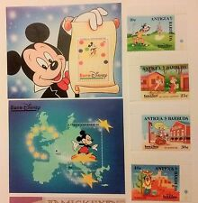 Disney characters at Euro Disney 1993 Postage Stamps