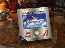 NIB GEMINI JETS ALITALIA DC-8-43 DIE CAST MODEL I-DIWA - GJAZA157 1:400 SCALE