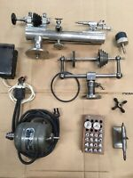 Derbyshire 8mm Watchmakers Lathe With Accessories!!