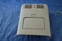 06-07 Infiniti M35 Sedan Rear Center Console Panel Storage Tray Air Vent # 21088