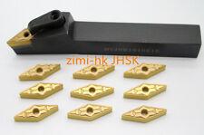 MVJNR1616K16 16x125mm Turning Tool Boring Bar Holder +10pcs VNMG160408-TM insert