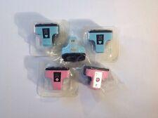 Lot (5) HP02 02 Ink Cartridges Photosmart C6180 C6270 C6280 C7180 C7280 Printers