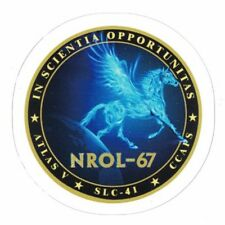 NROL-67 PEGASUS MISSION STICKER ~ American Recon Spy Satellite NSA  NEW