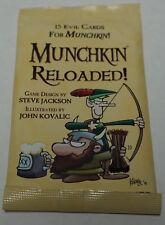 Steve Jackson Games: Munchkin Reloaded! Expansion Pack  New + bonus