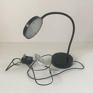 Adjustable LED Black Desk Lamp Office Study Student Teen Desk