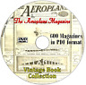 The Aeroplane Magazine 600 issues on DVD in PDF format