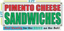 PIMENTO CHEESE SANDWICHES Banner Sign NEW Size Best Quality for The $$ Fair Food
