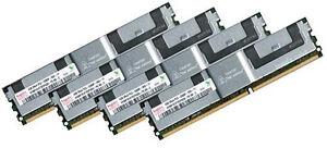 4x 4GB 16GB RAM für DELL PowerEdge 2900 667 Mhz FB DIMM DDR2  Fully Buffered