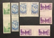 TDStamps: US Stamps Unused 1NH 4H NG, 5 Gutter Between